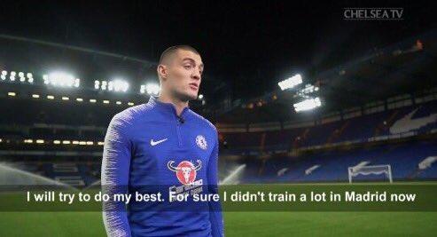 Des mots frappants de Kovacic. Capture/ChelseaFC