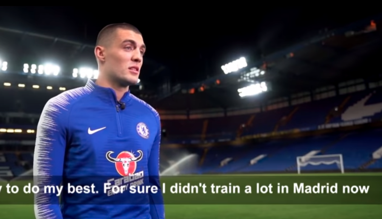 Llamativas palabras de Kovacic. Captura/ChelseaFC