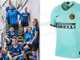 Inter de Milão apresenta seu novo uniforme. Inter/EleteTSC