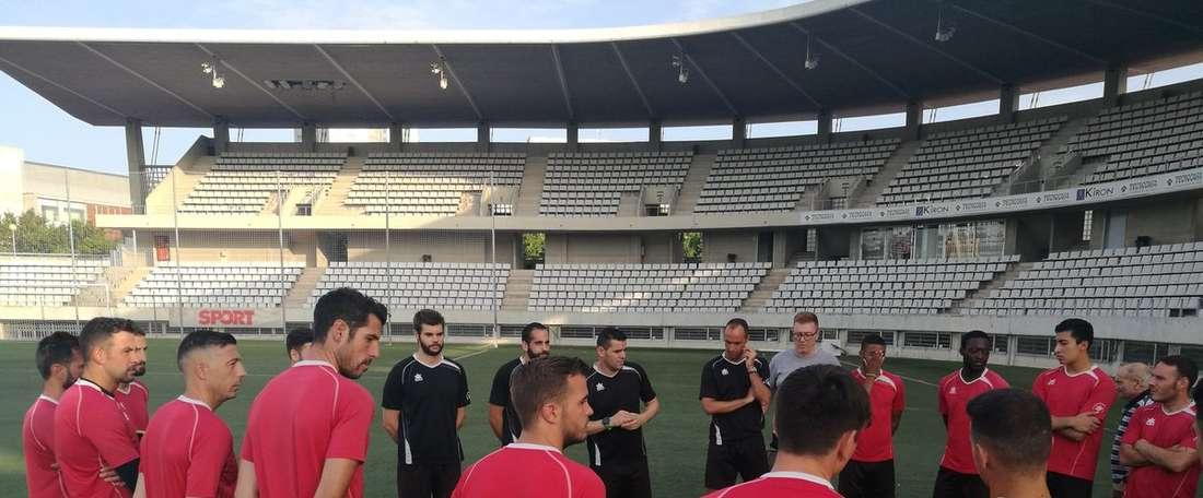 El conjunto catalán recibirá a un nuevo jugador. CEL'Hospitalet