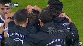 Primera victoria de Wanderers en el Clausura. Captural/Tendieldoficial