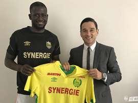 Prolongation du contrat d'Abdoulaye Touré à Nantes. FCNantes