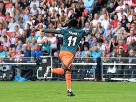 Le PSV et l'Ajax se quittent dos à dos. Twitter/AFCAjax