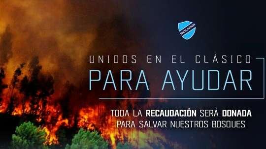 Bolívar donará el dinero de las entradas a la lucha por el Amazonas. Facebook/ClubBolivar