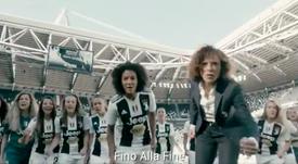 Otra puerta derribada: 39.000 personas en un Juve-Fiore femenino. Captura/JuventusFCWomen