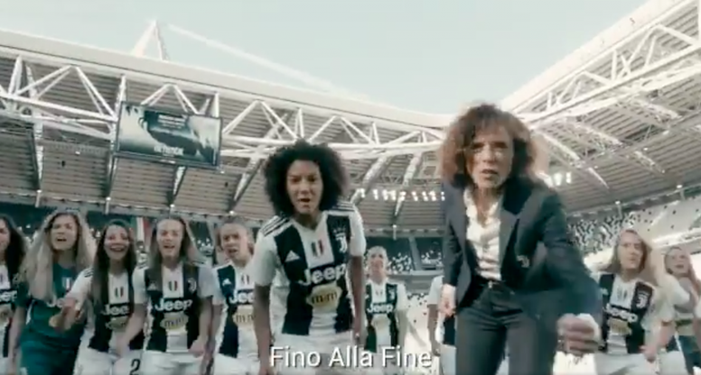 Juventus v Fiorentina will be sold out on Sunday. Captura/JuventusFCWomen