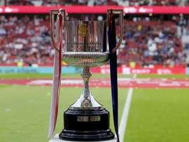 Taça da Copa del Rey. EFE/Arquvio