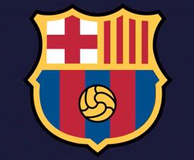 Este sería el nuevo escudo. FC Barcelona
