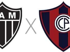 Prováveis escalações de Atlético-MG e Cerro Porteño. Globoesporte.com