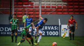Prováveis escalações de Cruzeiro e América-MG. Twitter @Cruzeiro
