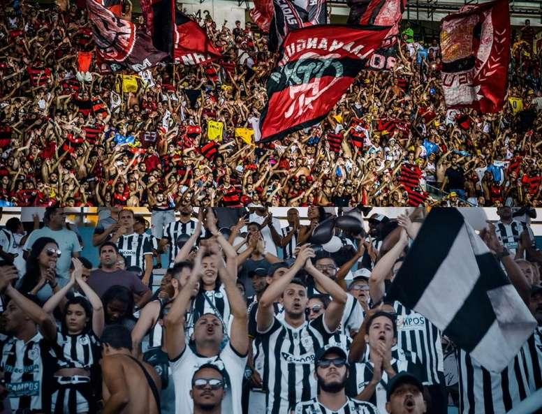 Prováveis escalações de Flamengo e Americano. Collage Twitter