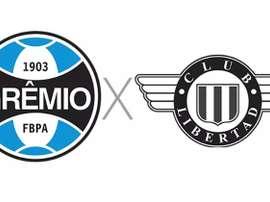 Prováveis escalações de Grêmio e Libertad. Captura