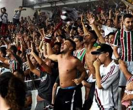 Los grandes sonríen en la Copa Brasil. FluminenseFC