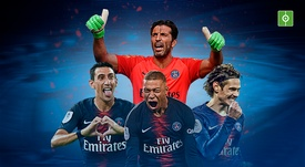 PSG crowned Champions again. BESOCCER