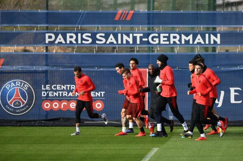 PSG tried to avoid the ultras, but were unable to. AFP