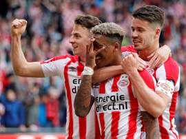 PSV CHAMPION. Twitter/PSV