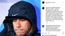 Neymar admitiu novamente o erro. Instagram