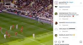 El Tottenham lanzó otro guiño a Bale en sus redes sociales. Instagram/spursofficial