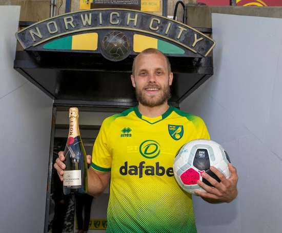 Pukki is the star of the Premier League season so far. Twitter/NorwichCityFC