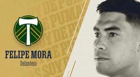 Pumas confirmó la marcha de Mora a Portland Timbers. Captura/PumasMX
