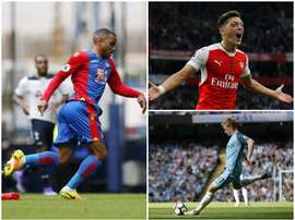 Puncheon, Ozil and De Bruyne are all creative talismen for their clubs. BeSoccer
