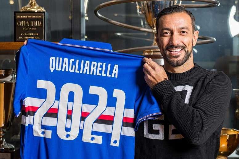 Quagliarella rinnova con la Sampdoria. Goal