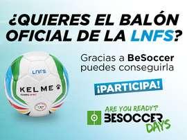 ¿Quieres conseguir el balón de la LNFS?.BeSoccer