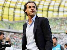 Quim Machado, entrenador del Vitoria Setúbal. Twitter