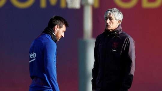 Dugarry criticou Messi e Setién. AFP
