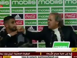 Rabah Madjer totally lost his temper at the Algerian journalist. ZairNews