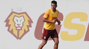 Falcao blessé à nouveau. Twitter/GalatasaraySK