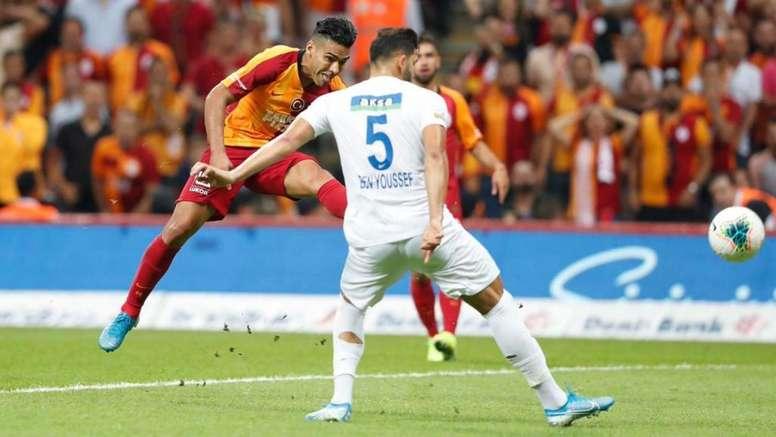 El Galatasaray sonríe: Falcao volvió a los entrenamientos. Twitter/GalatasaraySK