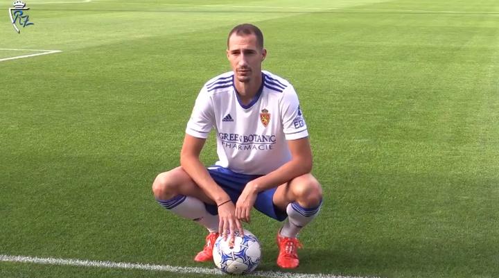 Radosav Petrovic jugará dos temporadas en el Zaragoza. Twitter/RealZaragoza