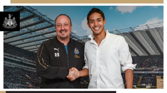 Yoshinori Muto, nuevo jugador del Newcastle. NUFC