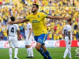 Rafa Mir se reincorporó a Las Palmas. LaLiga