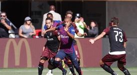 Le Barça, dans la ligne de mire de l'Inter. FCBarcelone
