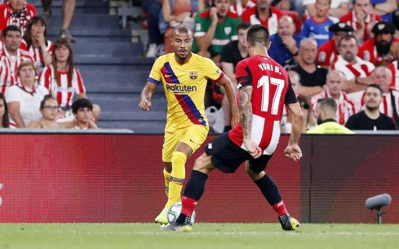 No está claro el futuro de Rafinha. FCBarcelona