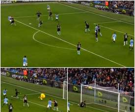 Sterling continued his sparkling form in the FA Cup on Sunday. CAPTURA/MONTAGE