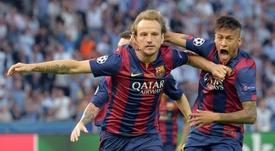 Ivan Rakitic podría ser clave en la vuelta de Neymar. EFE