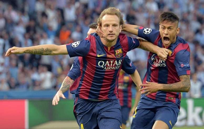 A Rakitic no le importaría volver a tener a Neymar en el Barça. EFE