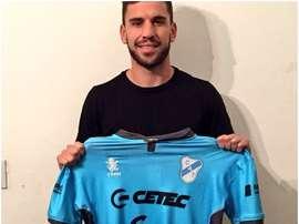 El argentino vestirá los colores del 'Gasolero' la próxima temporada. ClubTemperley