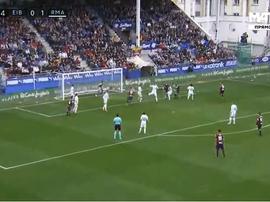 Ramis apontou o 1-1 frente ao Real. Twitter