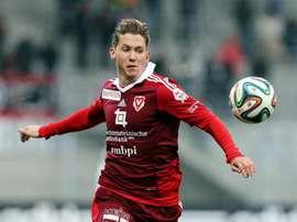 Ramon Cecchini jugará cedido en el Winterthur por el Vaduz. Twitter