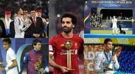 Os melhores jogadores dos 16 Mundiais de Clubes. AFP/EFE/FIFA