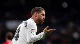 Ramos out of Madrid squad to face Eibar. EFE