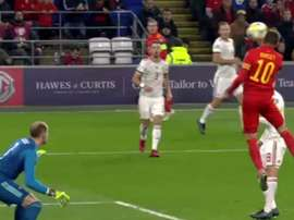 Bale est de retour : caviar pour Ramsey, qui ouvre le score. Capture/UEFATV