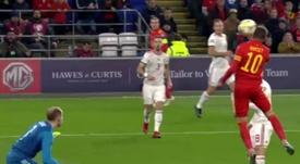 Bale está em forma. Captura/UEFATV