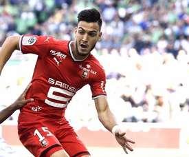 Bensebaini devrait rejoindre la Premier League. AFP