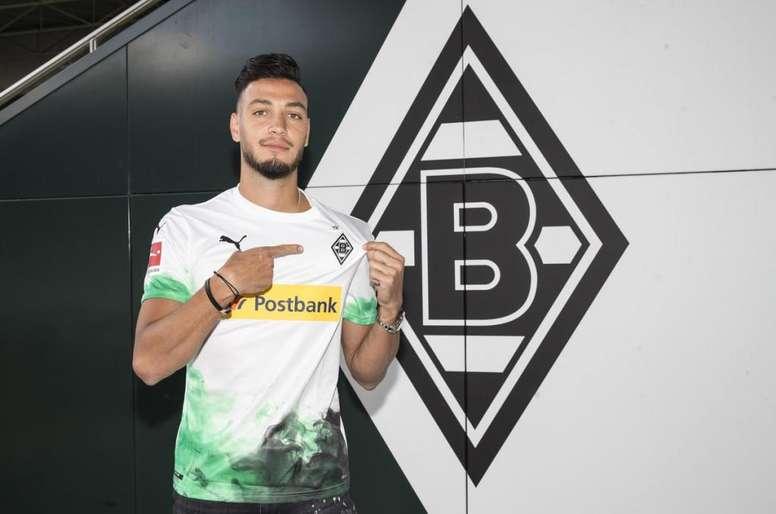 Bensebaini, nuevo jugador del 'Gladbach. BorussiaMonchengladbach