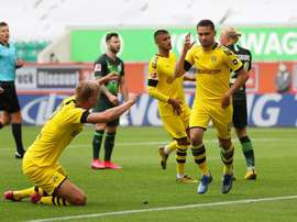 Guerreiro and Hakimi seal win to keep Bundesliga fight alive. BVB